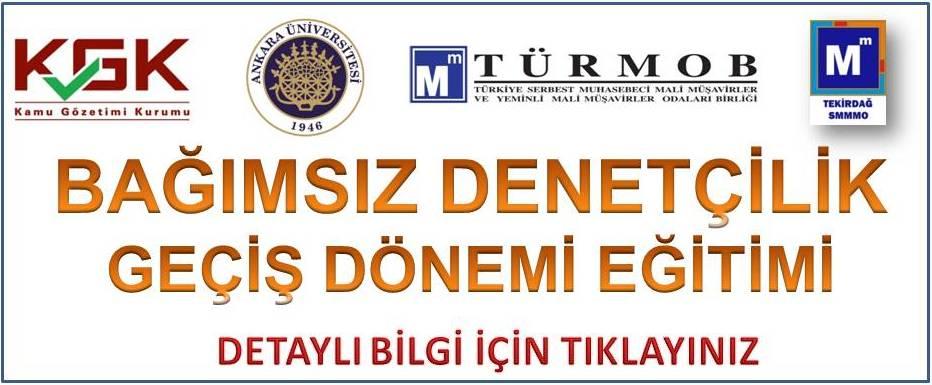 T�rmob Ba��ms�z Denetim E�itimi