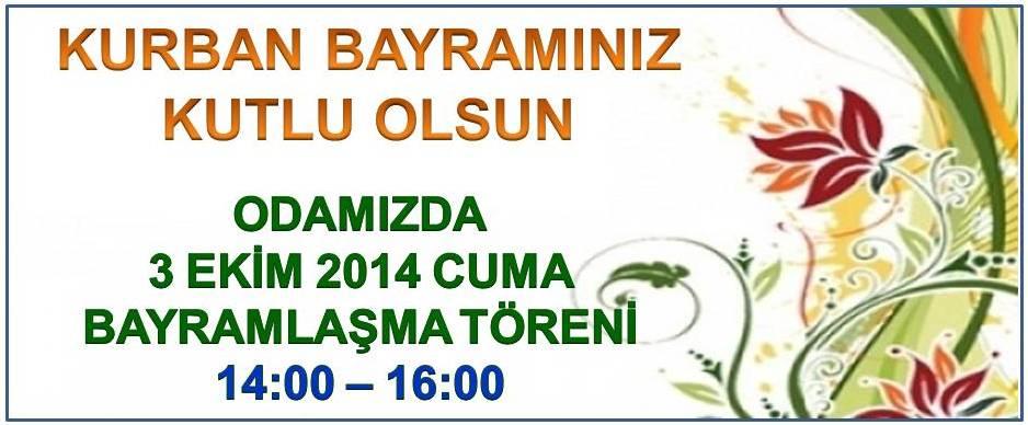 Kurban Bayram� 2014