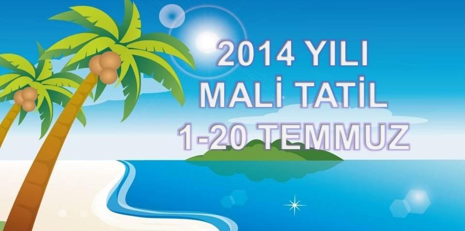 2014 YILI MAL� TAT�L