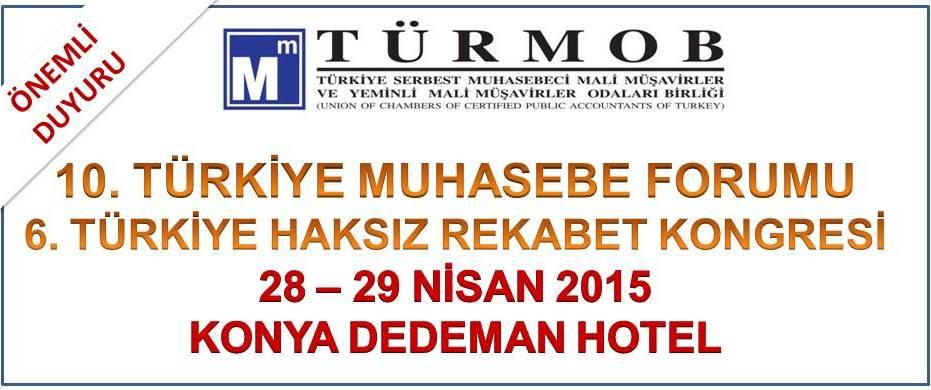 10. T�rkiye Muhasebe Forumu