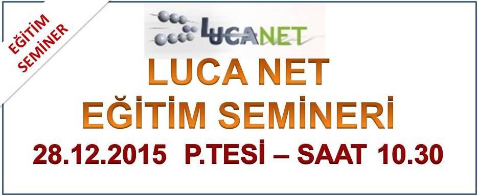 Luca Net E�itimi