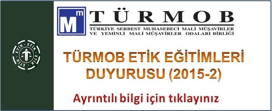 2015-2. D�nem Etik E�itim Ba�vuru duyurusu