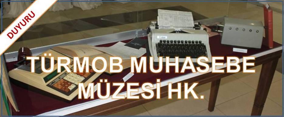 TÜRMOB Muhasebe Müzesi hk.