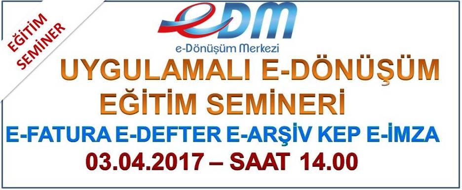 EDM e-dönüşüm eğitimi
