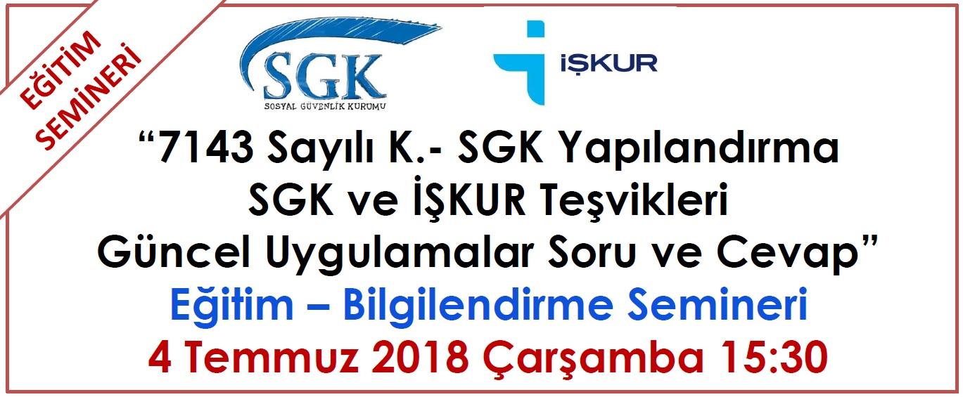 SGK-İşkur Teşvikleri