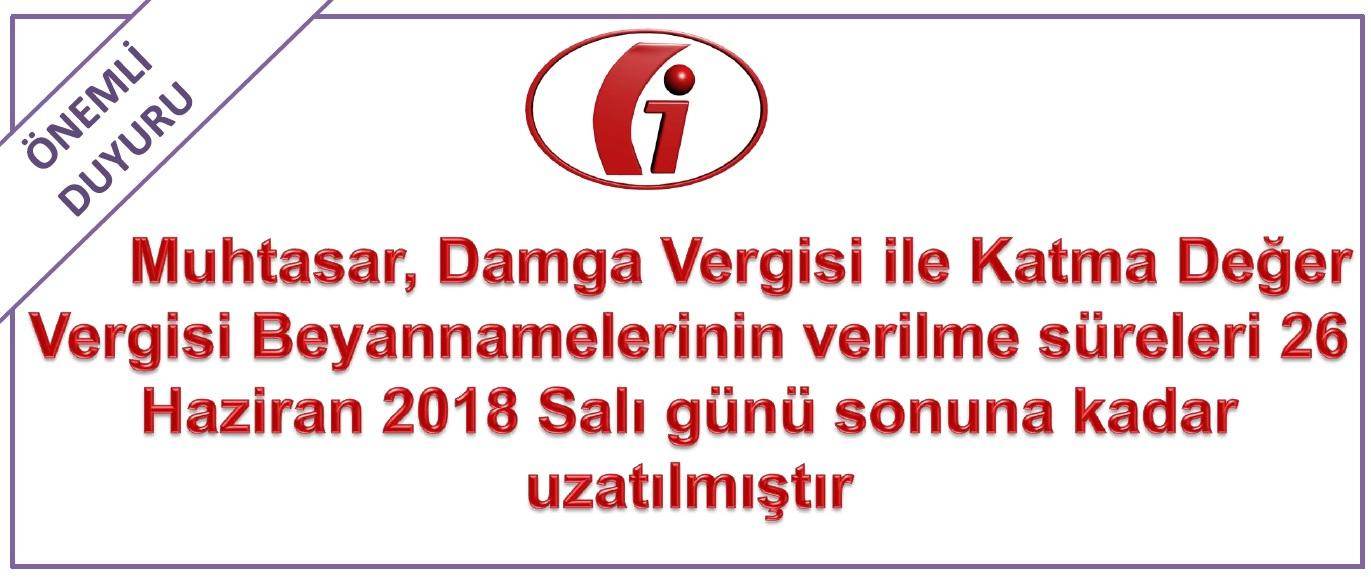 VERGİ USUL KANUNU SİRKÜLERİ/108 19.06.2018