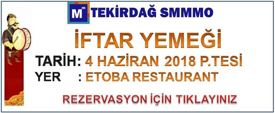 2018 İFTAR YEMEĞİ S.PAŞA