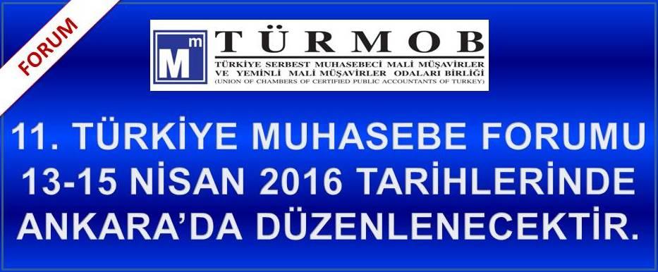 11. T�rkiye Muhasebe Forumu