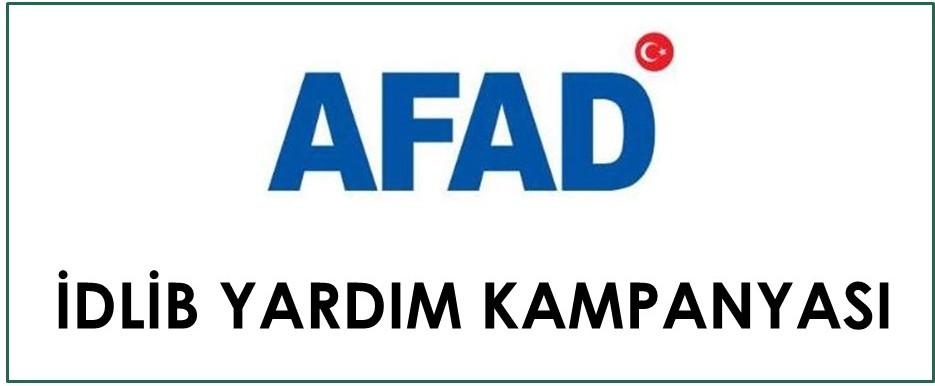 AFAD - İDLİB Yardım Kampanyası