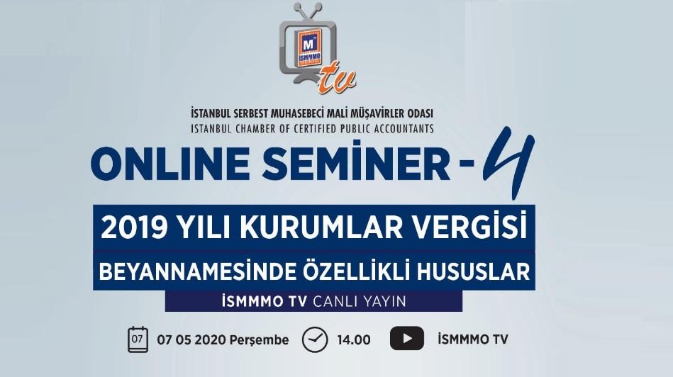 İSMMMO Online Eğitim Semineri