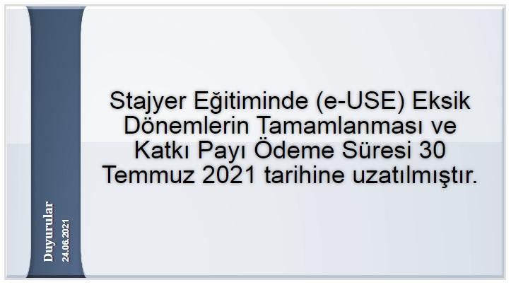 E-USE uzatma